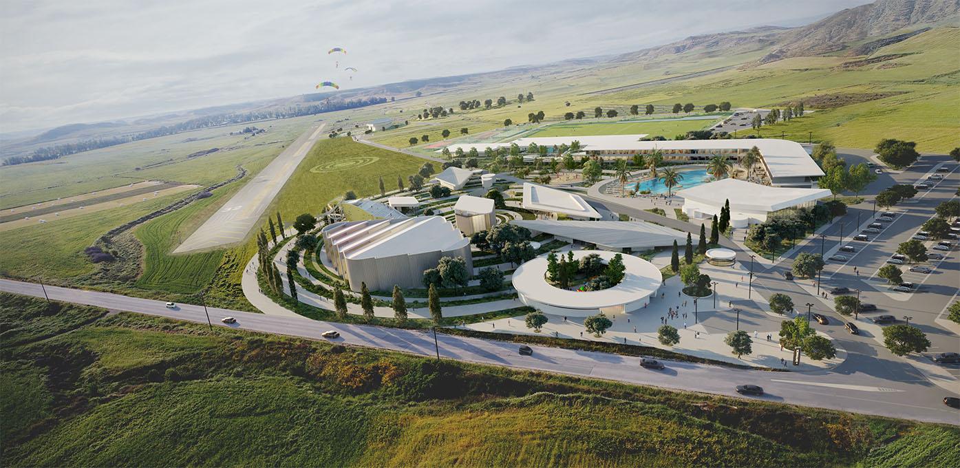 Eraclis Papachristou Architectural Office Daedalus Sports Theme Park