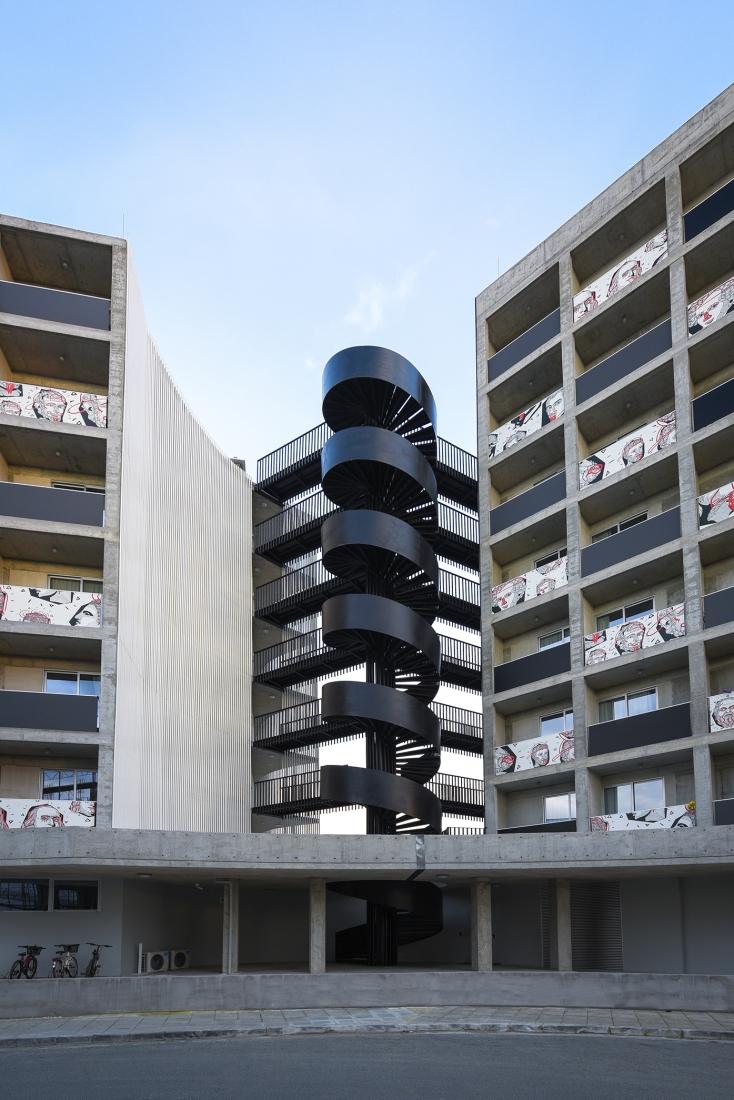 Eraclis Papachristou Architectural Office UniHALLS trinity