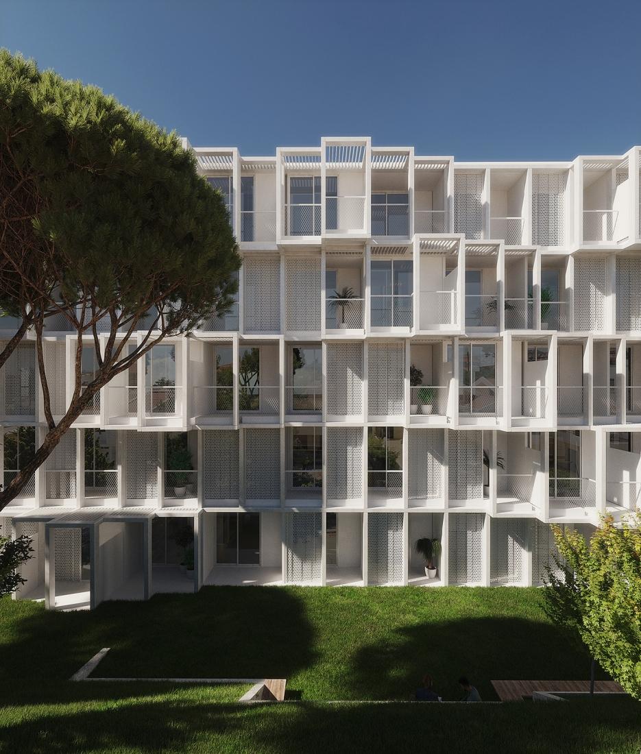 Eraclis Papachristou Architectural Office TEPAK Student Halls