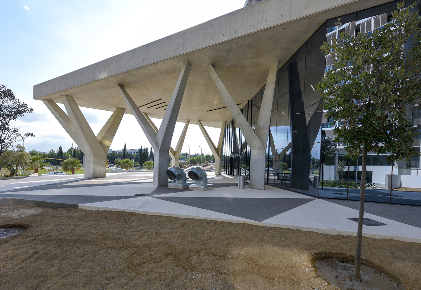 Eraclis Papachristou Architectural Office The Triangle