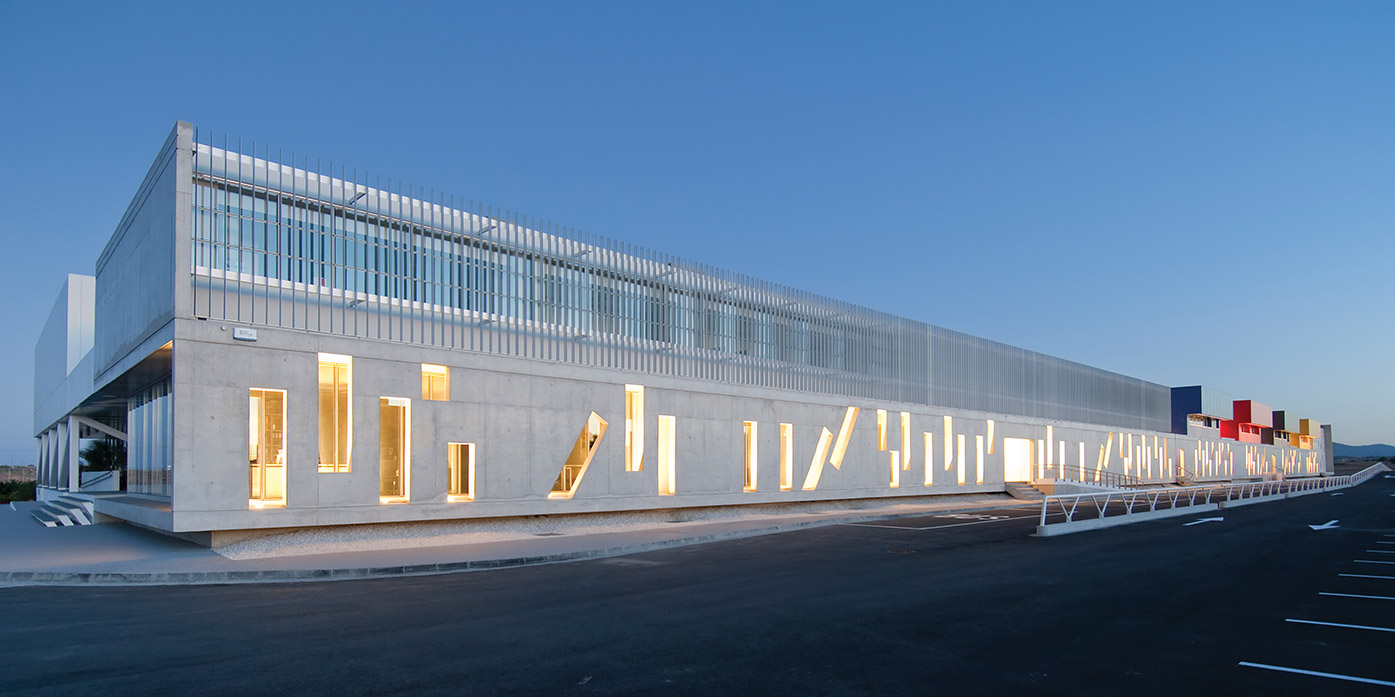 Eraclis Papachristou Architects Forum Greek Private Secondary School
