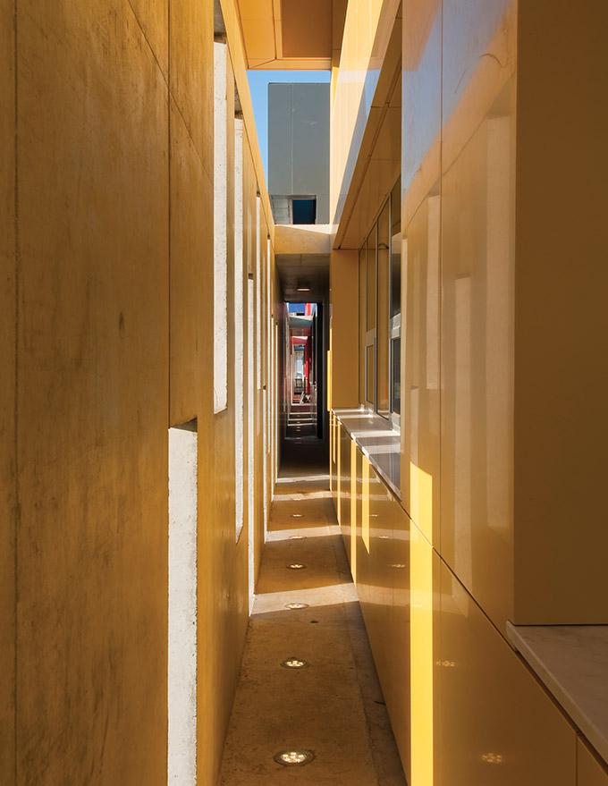 Eraclis Papachristou Architects Forum Greek Private Secondary School