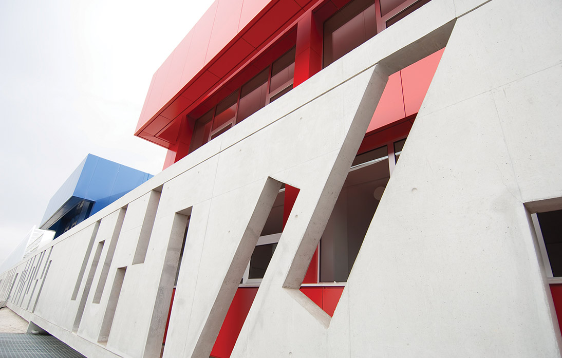 Eraclis Papachristou Architectural Office Forum Greek Private Secondary School