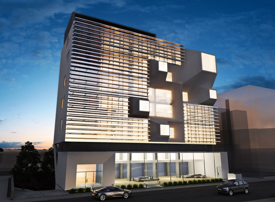 Eraclis Papachristou Architectural Office Office and Commercial Development in Nicosia
