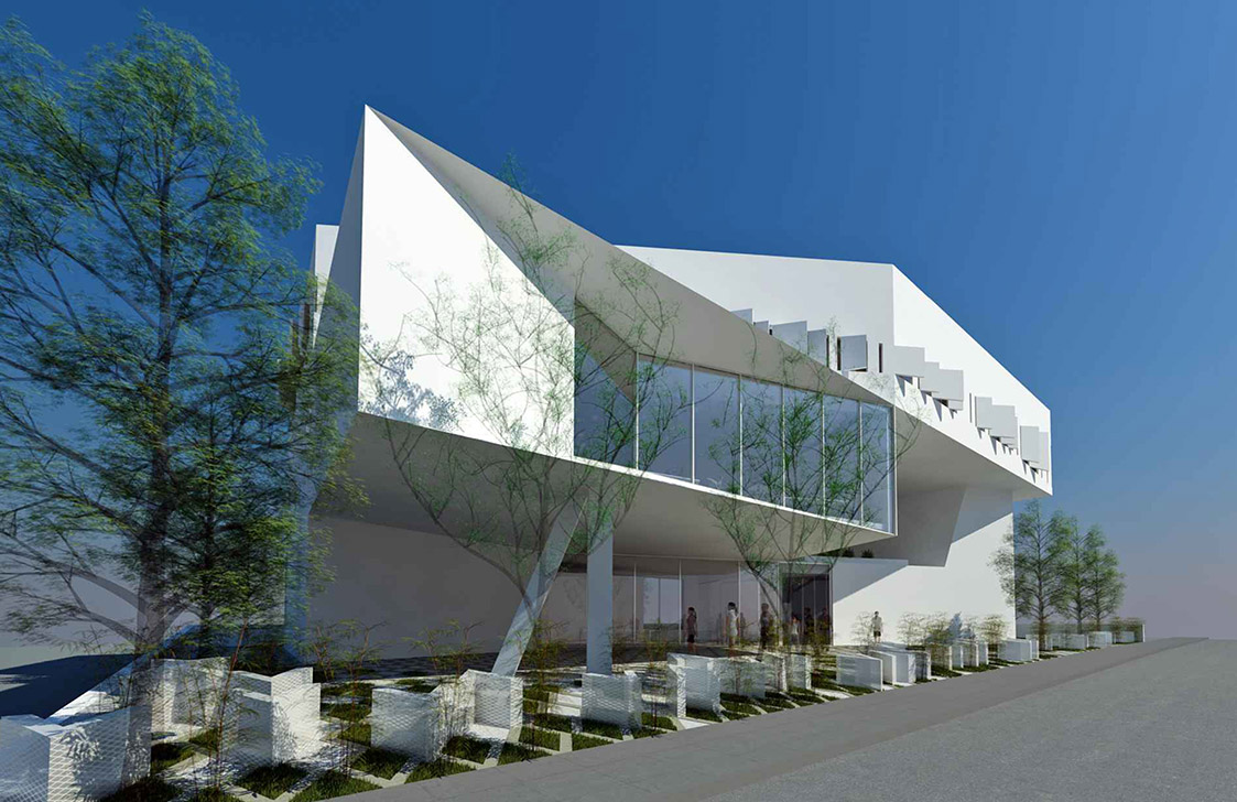Eraclis Papachristou Architectural Office Cyprus News Agency Office Building (ΚΥΠΕ)