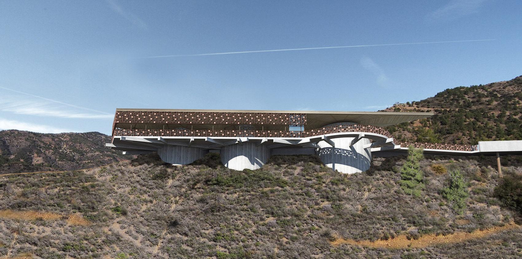 Eraclis Papachristou Architects Lampadistis Winery