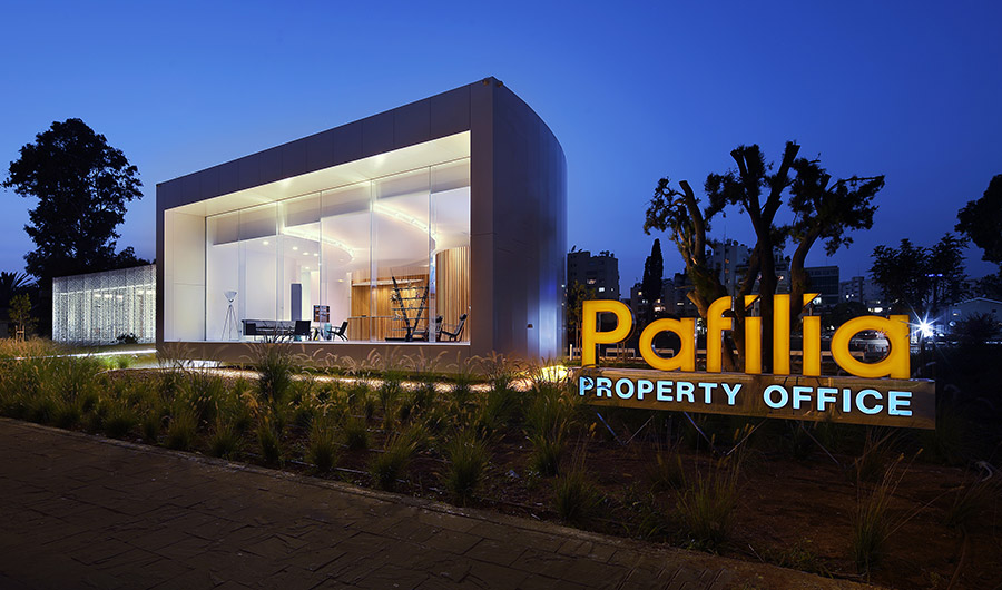 Eraclis Papachristou Architectural Office The Gallery, Pafilia Property Sales Offices