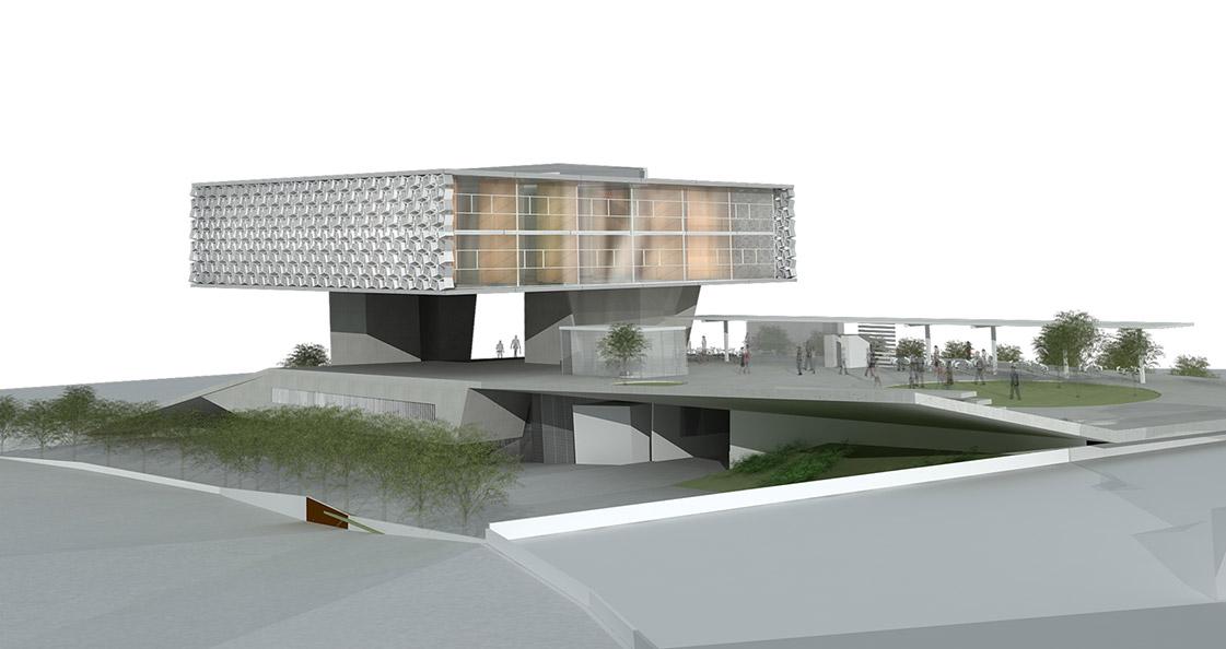 Eraclis Papachristou Architectural Office Paphos Town Hall