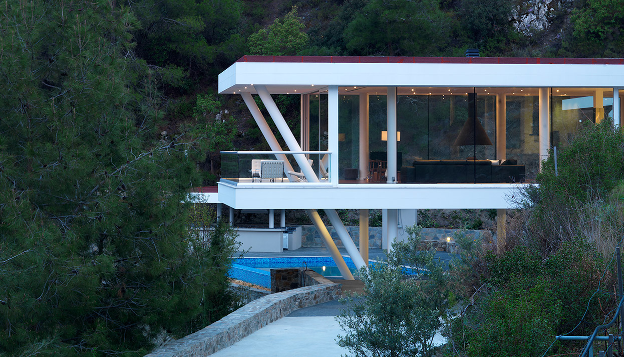 Eraclis Papachristou Architectural Office Residence 102, Nicosia District