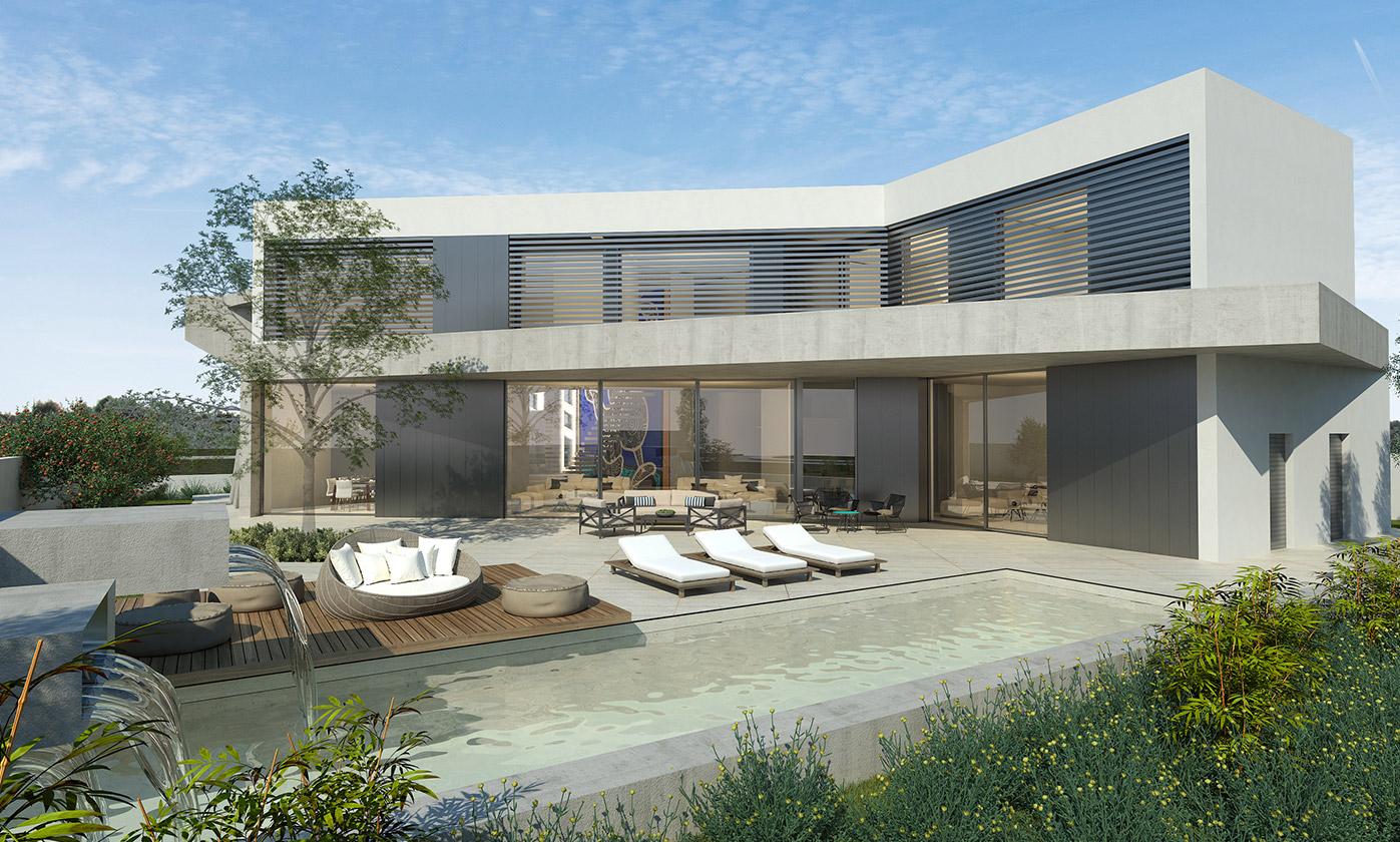 Eraclis Papachristou Architectural Office Residence 313