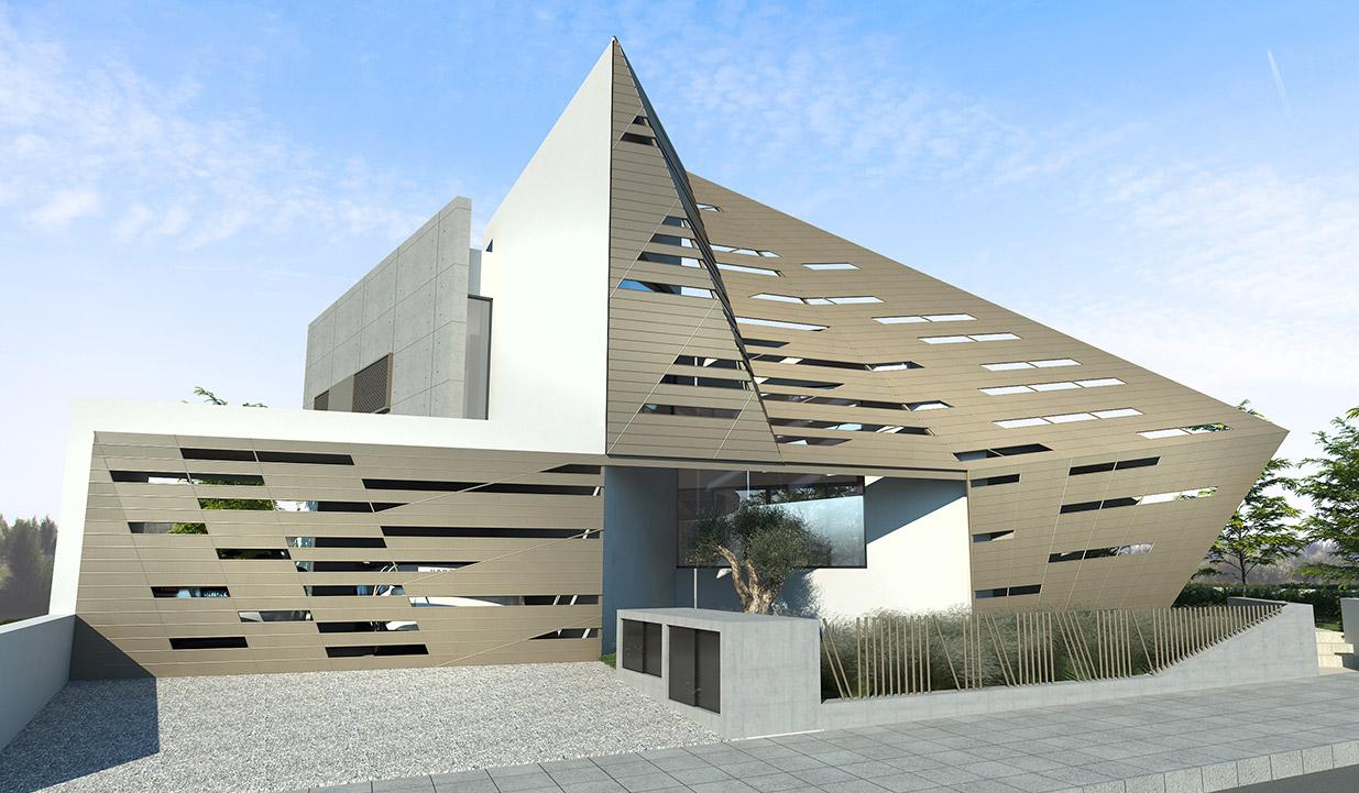 Eraclis Papachristou Architectural Office Residence 325