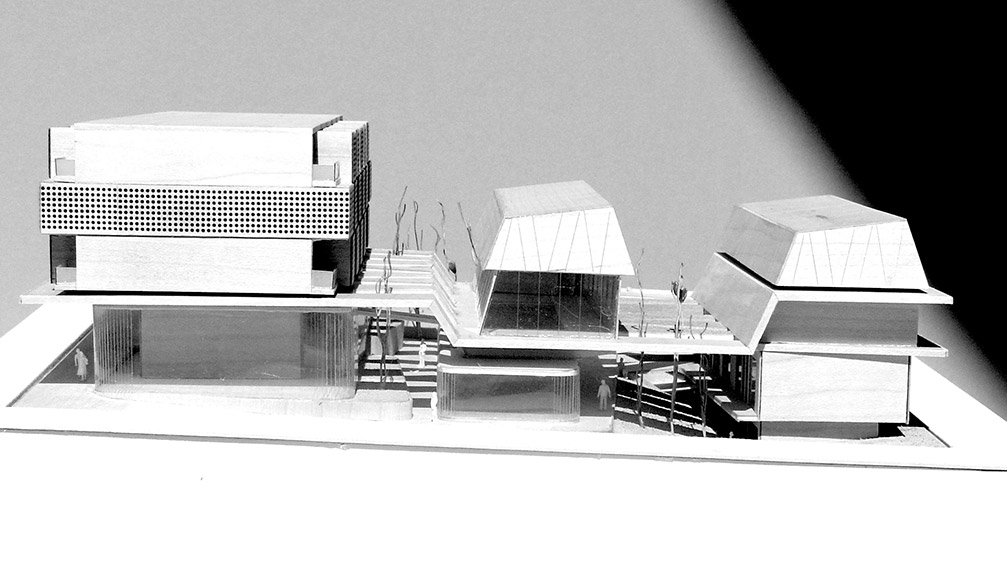 Eraclis Papachristou Architectural Office Residential and Retail Complex