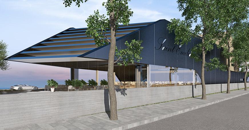 Eraclis Papachristou Architectural Office Saint Emilion