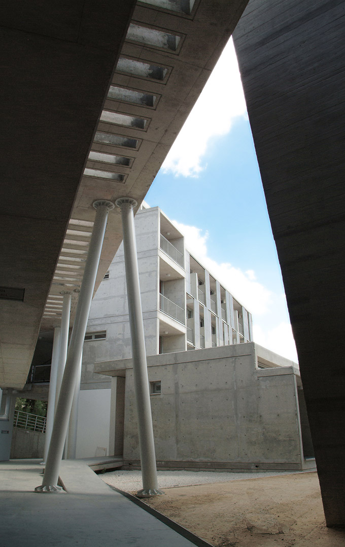 Eraclis Papachristou Architectural Office Student's Hall, University of Cyprus