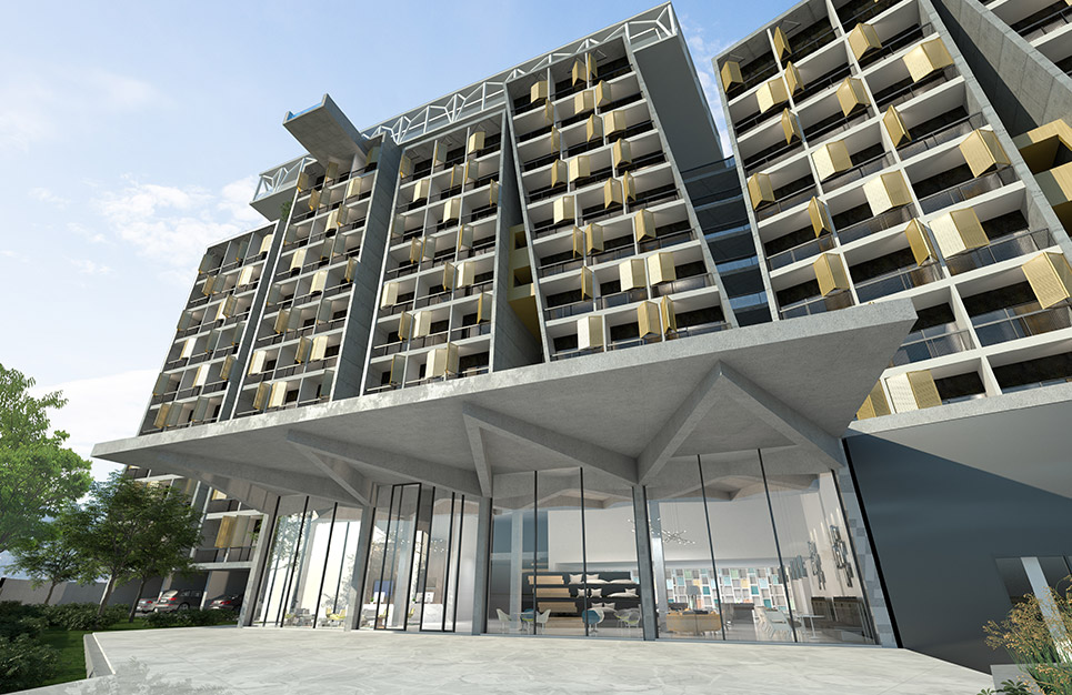 Eraclis Papachristou Architects The Six Towers
