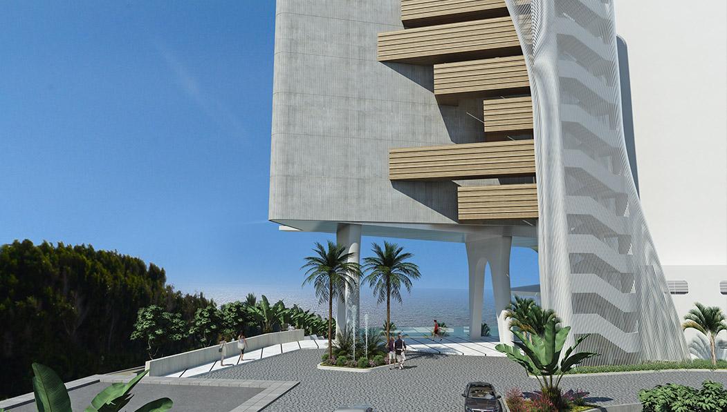 Eraclis Papachristou Architectural Office TLM Hotel
