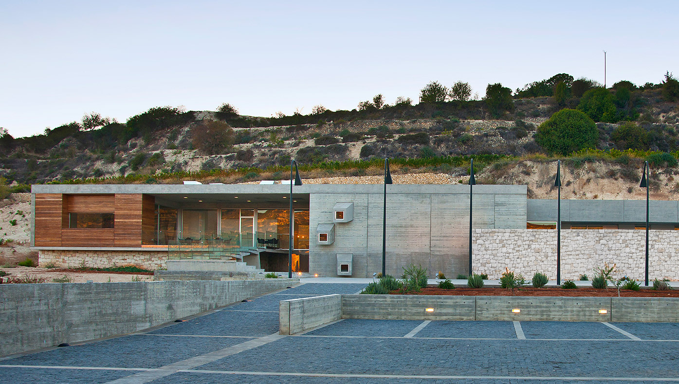 Eraclis Papachristou Architects Vlassides Winery